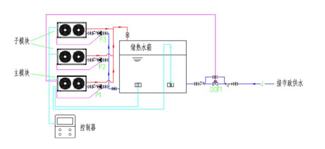 空气能9300w泵接线图